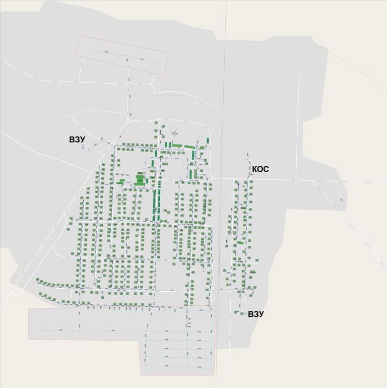 Разработка схемы водоснабжения и водоотведения городского поселения